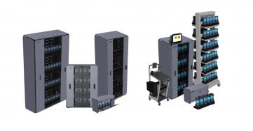 Zebra inteligentní kabinety probezpečné uložení zařízení