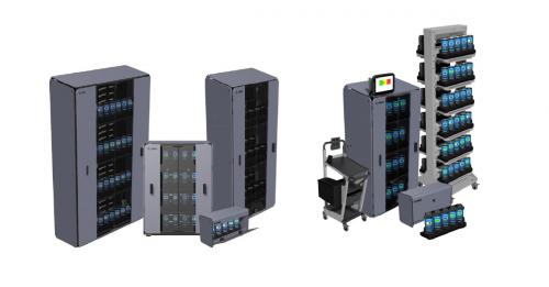 Zebra inteligentní kabinety pro bezpečné uložení zařízení