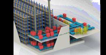 Precizní výrobu vSellier & Bellot umocňuje již tři roky automatizovaný sklad