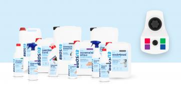 Systémové řešení úklidu, čistoty ahygieny