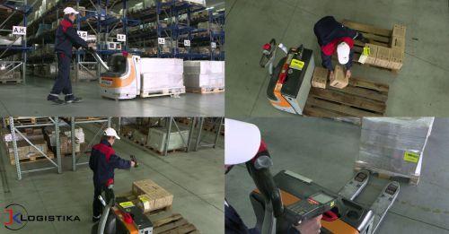 Warehouse Management System počítá i produktivitu skladníků